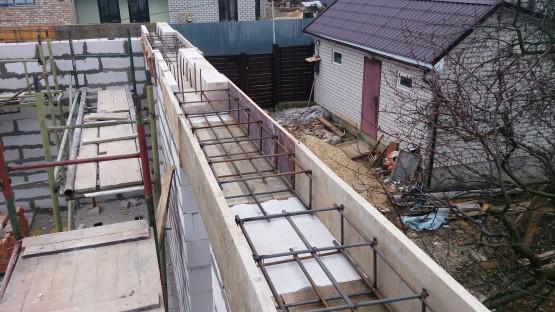 Кладка стен из газобетона. Общестроительные работы