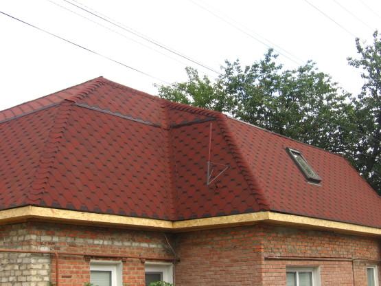Реконструкция крыши. Кровельные работы Харьков