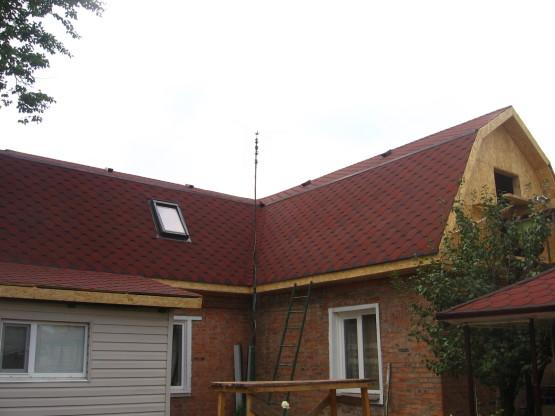 Реконструкция крыши. Кровельные работы